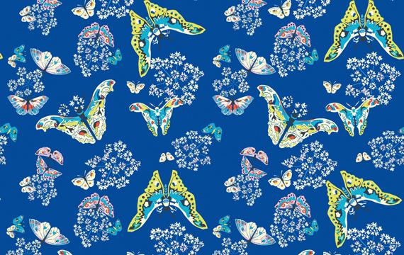 Queen Ann's Butterflies Sapph - 80.00 lei