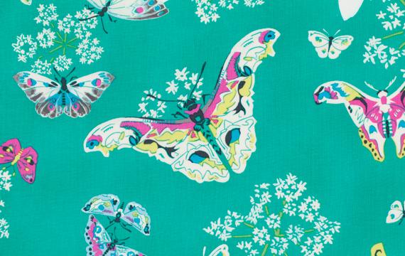 Queen Ann's Butterflies Topaz 1,14m*13,70m - 40.00 lei