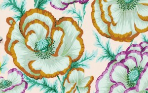 Banded Poppy Peach 1.14m*13,7m - 40.00 lei