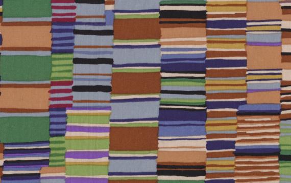 Shirt Stripe Brown 1,14m*13,7m - 40.00 lei